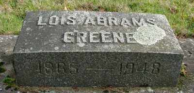 ABRAMS GREENE, LOIS - Marion County, Oregon | LOIS ABRAMS GREENE - Oregon Gravestone Photos