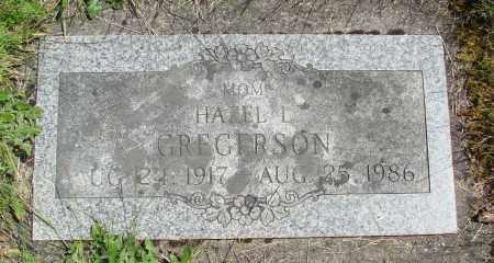 DIMICK GREGORSON, HAZEL L - Marion County, Oregon | HAZEL L DIMICK GREGORSON - Oregon Gravestone Photos