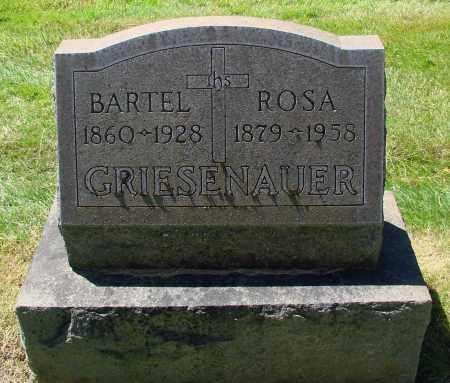 GRIESENAUER, BARTEL - Marion County, Oregon | BARTEL GRIESENAUER - Oregon Gravestone Photos