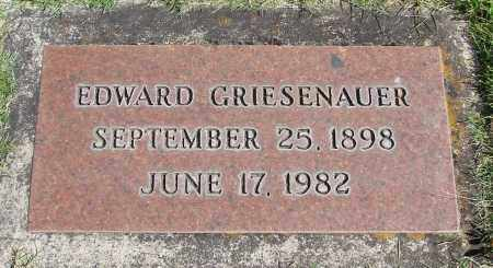 GRIESENAUER, EDWARD - Marion County, Oregon | EDWARD GRIESENAUER - Oregon Gravestone Photos