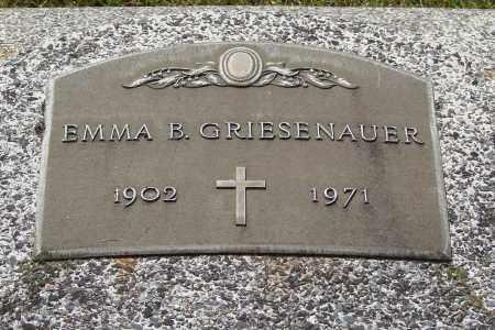 GRIESENAUER, EMMA B - Marion County, Oregon   EMMA B GRIESENAUER - Oregon Gravestone Photos