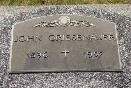 GRIESENAUER, JOHN - Marion County, Oregon | JOHN GRIESENAUER - Oregon Gravestone Photos
