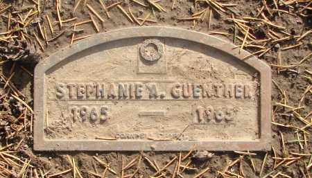 GUENTHER, STEPHANIE A - Marion County, Oregon   STEPHANIE A GUENTHER - Oregon Gravestone Photos
