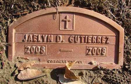 GUTIERREZ, JAELYN DANIELA - Marion County, Oregon | JAELYN DANIELA GUTIERREZ - Oregon Gravestone Photos
