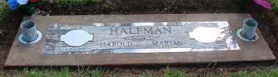 HALFMAN, HAROLD AUGUST - Marion County, Oregon | HAROLD AUGUST HALFMAN - Oregon Gravestone Photos