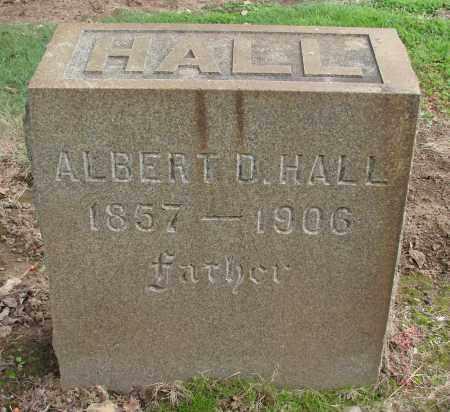 HALL, ALBERT D - Marion County, Oregon | ALBERT D HALL - Oregon Gravestone Photos