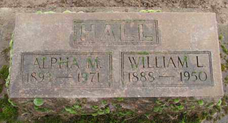 HALL, ALPHA M - Marion County, Oregon | ALPHA M HALL - Oregon Gravestone Photos