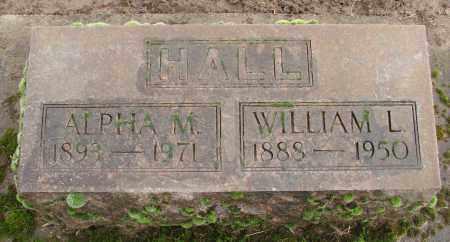 HALL, WILLIAM LEE - Marion County, Oregon | WILLIAM LEE HALL - Oregon Gravestone Photos