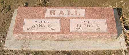 HALL, ELISHA WHITFIELD - Marion County, Oregon | ELISHA WHITFIELD HALL - Oregon Gravestone Photos