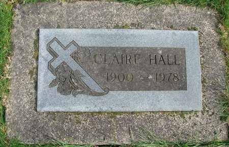 HALL, CLAIRE - Marion County, Oregon   CLAIRE HALL - Oregon Gravestone Photos