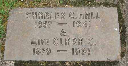 HALL, CHARLES CLARENCE - Marion County, Oregon | CHARLES CLARENCE HALL - Oregon Gravestone Photos