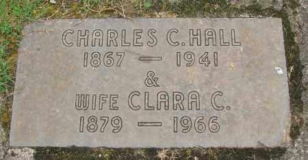 HALL, CLARA C - Marion County, Oregon | CLARA C HALL - Oregon Gravestone Photos