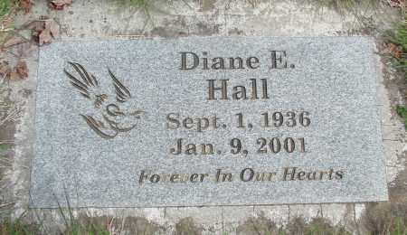 HALL, DIANE E - Marion County, Oregon | DIANE E HALL - Oregon Gravestone Photos