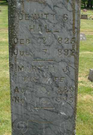 HALL, DEWITT CLINTON - Marion County, Oregon | DEWITT CLINTON HALL - Oregon Gravestone Photos