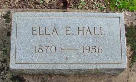 HALL, ELLA E - Marion County, Oregon | ELLA E HALL - Oregon Gravestone Photos