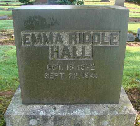 HALL, EMMA - Marion County, Oregon | EMMA HALL - Oregon Gravestone Photos