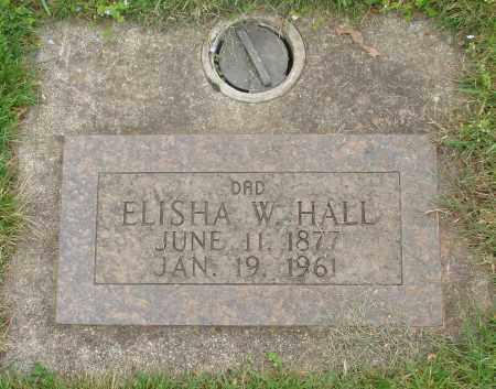 HALL, ELISHA WALTER - Marion County, Oregon | ELISHA WALTER HALL - Oregon Gravestone Photos