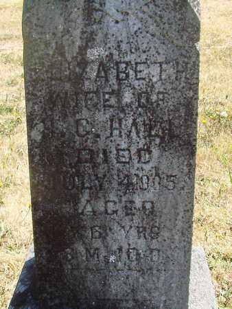 HALL, ELIZABETH - Marion County, Oregon | ELIZABETH HALL - Oregon Gravestone Photos