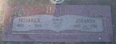 HALL, FREDERICK - Marion County, Oregon | FREDERICK HALL - Oregon Gravestone Photos