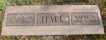 HALL, GRACE M - Marion County, Oregon   GRACE M HALL - Oregon Gravestone Photos