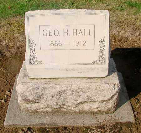 HALL, GEORGE H - Marion County, Oregon | GEORGE H HALL - Oregon Gravestone Photos