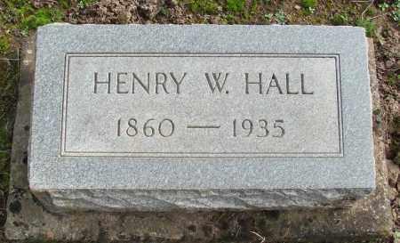 HALL, HENRY W - Marion County, Oregon | HENRY W HALL - Oregon Gravestone Photos