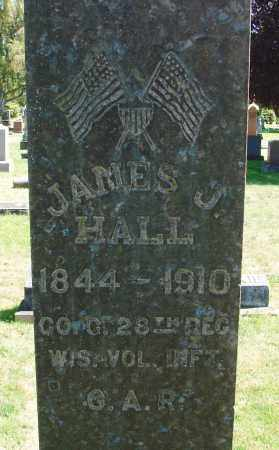 HALL (CW), JAMES J - Marion County, Oregon   JAMES J HALL (CW) - Oregon Gravestone Photos