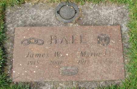 HALL, JAMES WESLEY - Marion County, Oregon | JAMES WESLEY HALL - Oregon Gravestone Photos