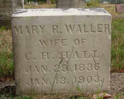 HALL, MARY R - Marion County, Oregon | MARY R HALL - Oregon Gravestone Photos