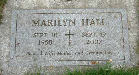 HALL, MARILYN - Marion County, Oregon | MARILYN HALL - Oregon Gravestone Photos
