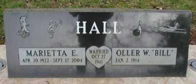 HALL, OLLER W - Marion County, Oregon | OLLER W HALL - Oregon Gravestone Photos