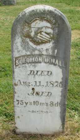 HALL, SOLOMON - Marion County, Oregon | SOLOMON HALL - Oregon Gravestone Photos