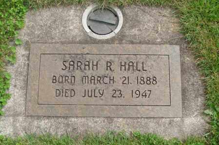 HALL, SARAH R - Marion County, Oregon   SARAH R HALL - Oregon Gravestone Photos