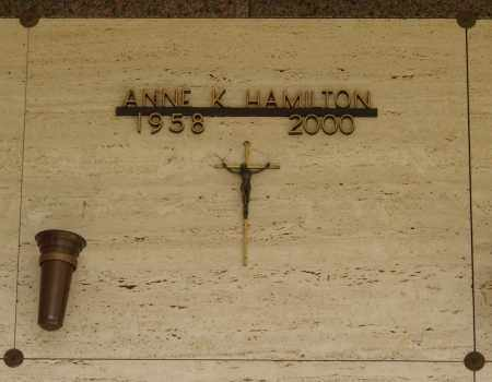 HAMILTON, ANNE - Marion County, Oregon   ANNE HAMILTON - Oregon Gravestone Photos