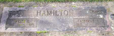 HAMILTON, WYATT LESTER - Marion County, Oregon | WYATT LESTER HAMILTON - Oregon Gravestone Photos