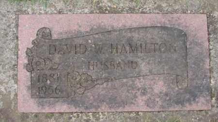 HAMILTON, DAVID W - Marion County, Oregon | DAVID W HAMILTON - Oregon Gravestone Photos