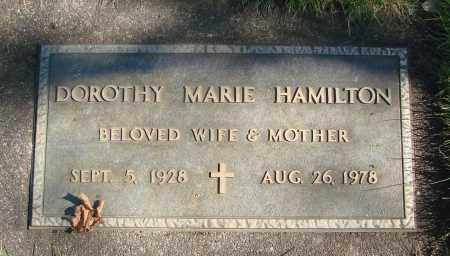 HAMILTON, DOROTHY MARIE - Marion County, Oregon | DOROTHY MARIE HAMILTON - Oregon Gravestone Photos