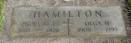 HAMILTON, HOWARD ELMER - Marion County, Oregon | HOWARD ELMER HAMILTON - Oregon Gravestone Photos