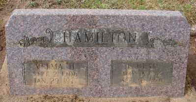 HAMILTON, L DEAN - Marion County, Oregon | L DEAN HAMILTON - Oregon Gravestone Photos
