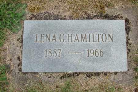 HAMILTON, LENA G - Marion County, Oregon   LENA G HAMILTON - Oregon Gravestone Photos