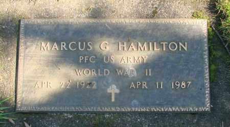 HAMILTON, MARCUS G - Marion County, Oregon | MARCUS G HAMILTON - Oregon Gravestone Photos