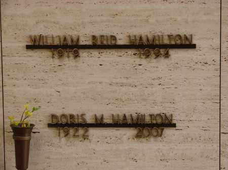 HAMILTON, WILLIAM REID - Marion County, Oregon | WILLIAM REID HAMILTON - Oregon Gravestone Photos