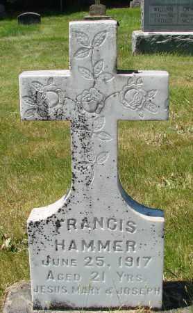 HAMMER, FRANCIS - Marion County, Oregon | FRANCIS HAMMER - Oregon Gravestone Photos