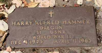 HAMMER (WWII), HARRY ALFRED - Marion County, Oregon | HARRY ALFRED HAMMER (WWII) - Oregon Gravestone Photos