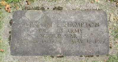 HAMPTON (WWI), WILLIAM E - Marion County, Oregon | WILLIAM E HAMPTON (WWI) - Oregon Gravestone Photos