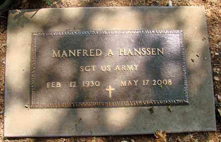 HANSSEN (SERV), MANFRED A - Marion County, Oregon | MANFRED A HANSSEN (SERV) - Oregon Gravestone Photos