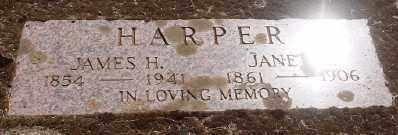 HARPER, JAMES H - Marion County, Oregon | JAMES H HARPER - Oregon Gravestone Photos