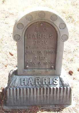 HARRIS, A C - Marion County, Oregon | A C HARRIS - Oregon Gravestone Photos