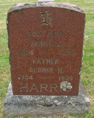 HARRIS, ANNIE L - Marion County, Oregon | ANNIE L HARRIS - Oregon Gravestone Photos
