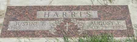 HARRIS, AUGUST J - Marion County, Oregon | AUGUST J HARRIS - Oregon Gravestone Photos